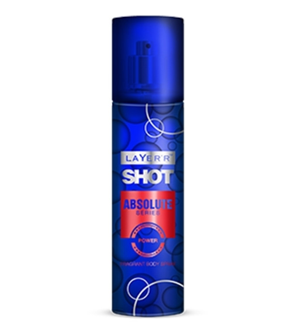 Layer Shot Absolute Power Body Spray