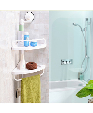 Bathroom Suction Corner Shelf