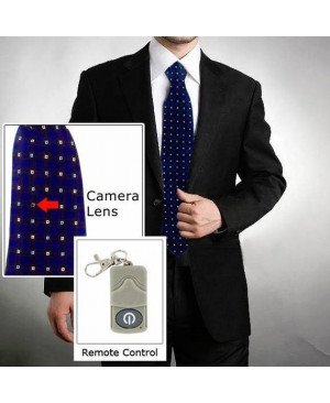 Necktie Video Camera Recorder