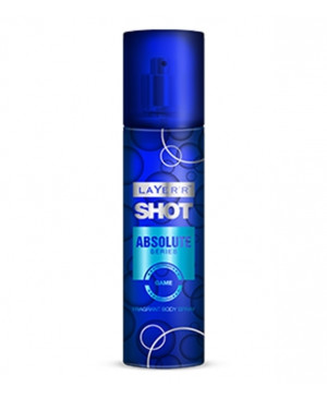 Layer Shot Absolute Game Body Spray