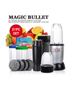 Magic Bullet Blender 21 Pieces