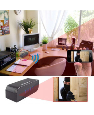 Table Clock Wifi Video Camcorder