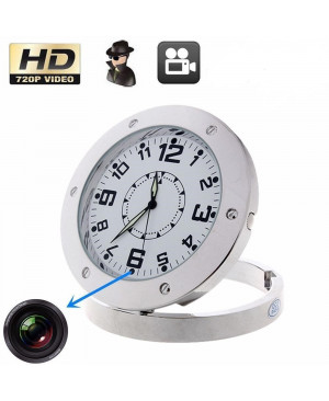 Table Clock Video Camcorder