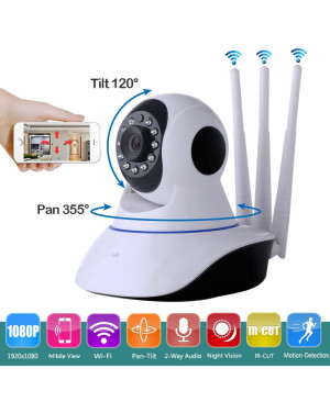 WiFi IP Camera Three Antennas