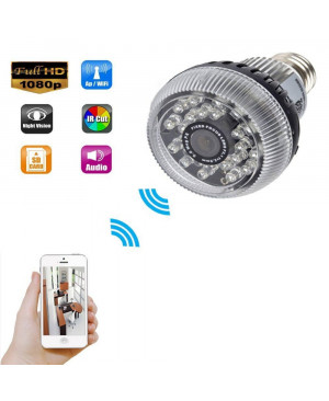 Wifi IP Light Bulb Camera